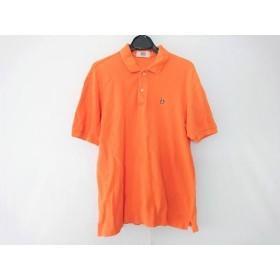 【中古】 マンシングウェア Munsingwear 半袖ポロシャツ サイズM メンズ オレンジ