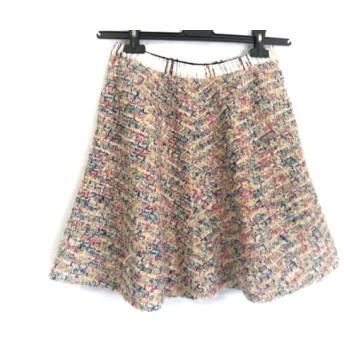 【中古】 コーヘン Coohem スカート サイズ38 M レディース ピンク マルチ
