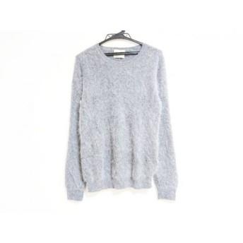【中古】 アクネ Acne 長袖セーター サイズS レディース グレー モヘヤ