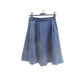 【中古】 レッセパッセ LAISSE PASSE スカート サイズ36 S レディース ネイビー