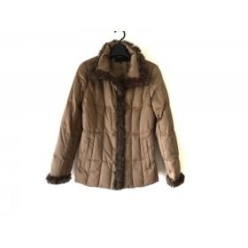 【中古】 フラジール FRAGILE ダウンジャケット サイズ36 S レディース ブラウン 冬物