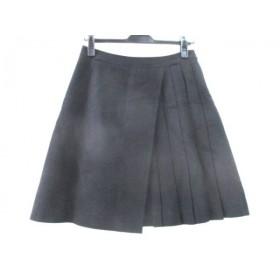 【中古】 アナイ ANAYI スカート サイズ38 M レディース ブラック