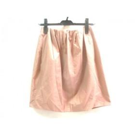【中古】 アクアガール aquagirl スカート サイズ36 S レディース ライトブラウン