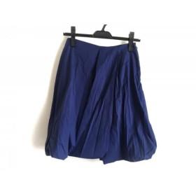 【中古】 プラダ PRADA バルーンスカート サイズ38 S レディース ブルー