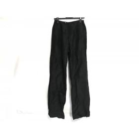 【中古】 ヒロココシノ HIROKO KOSHINO パンツ サイズ9 M レディース 黒