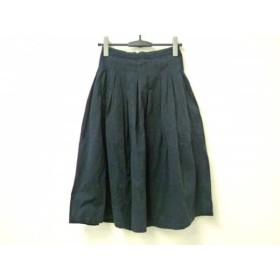 【中古】 グランマママドーター ロングスカート サイズ0 XS レディース ダークネイビー