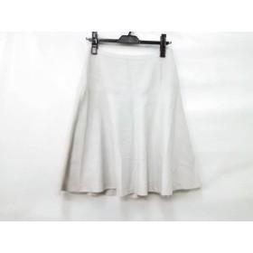 【中古】 インディビ INDIVI スカート サイズ40 M レディース ライトベージュ