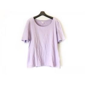 【中古】 エスカーダ ESCADA 半袖Tシャツ サイズ44 L レディース パープル