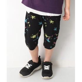 [マルイ] 子供服 ハーフパンツ キッズ 韓国子供服 総柄7分丈サルエル パンツ 男の子 女の子 ズボン/デビロック(devirock)