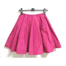 【中古】 チェスティ Chesty スカート サイズ1 S レディース ピンク