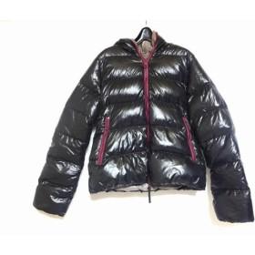 【中古】 デュベティカ DUVETICA ダウンジャケット サイズ40 M レディース Thia 黒 パープル 冬物