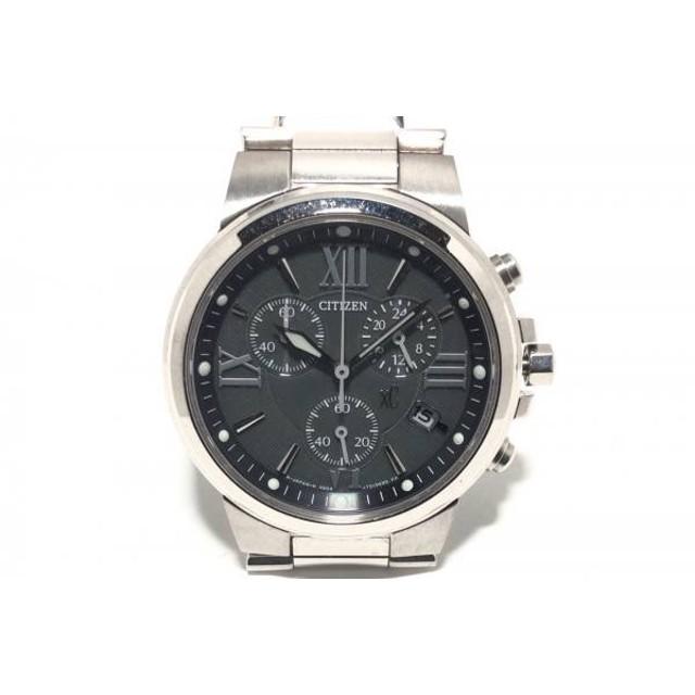 96b212c9fb 【中古】 シチズン CITIZEN 腕時計 XC H504-T0124TA メンズ エコドライブ/クロノグラフ