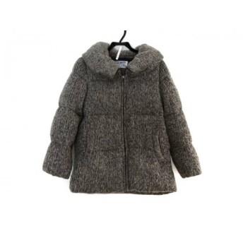 【中古】 フォードミルズ Fordmills ダウンジャケット サイズ36 S レディース ベージュ 黒 冬物