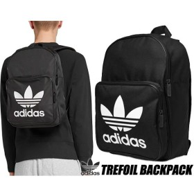 アディダス オリジナルス バックパック adidas CLASSIC TREFOIL BACKPACK BLACK dw5185 fvd28 リュック カバン