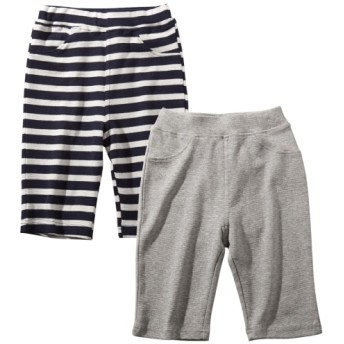 動きやすいらくちんハーフパンツ2枚組(男の子 子供服) パンツ