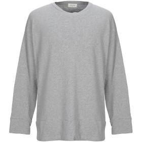《期間限定セール開催中!》AMERICAN VINTAGE メンズ スウェットシャツ ライトグレー S コットン 100%