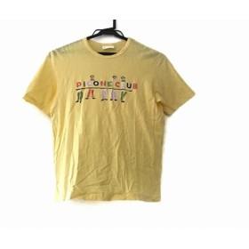 【中古】 ピッコーネ 半袖Tシャツ サイズ1 S レディース イエロー オレンジ マルチ CLUB/スタッズ
