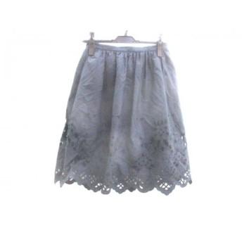 【中古】 アウラアイラ AULAAILA スカート サイズ1 S レディース ブラック