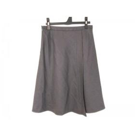 【中古】 オールドイングランド OLD ENGLAND スカート サイズ36 S レディース ダークグレー