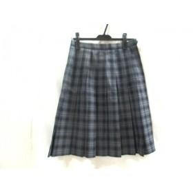 【中古】 ハナエモリ HANAE MORI スカート サイズ63 レディース グレー