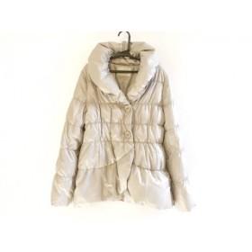 【中古】 ストロベリーフィールズ ダウンジャケット サイズ2 M レディース ベージュ 冬物