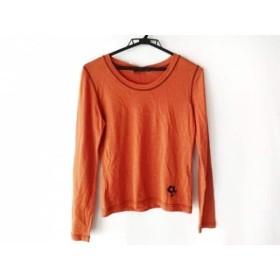 【中古】 エムズグレイシー M'S GRACY 長袖Tシャツ サイズ40 M レディース ライトブラウン