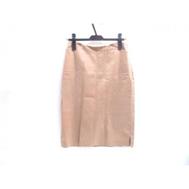 【中古】 アンタイトル UNTITLED スカート サイズ9 M レディース ベージュ
