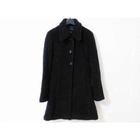 【中古】 イーストボーイ EASTBOY コート サイズ9 M レディース 黒 冬物