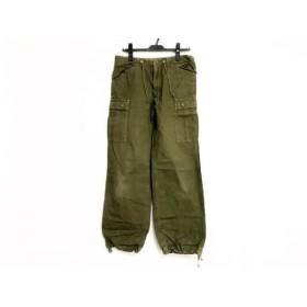 【中古】 グリーン green パンツ サイズM レディース ダークグリーン