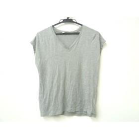 【中古】 トゥモローランド TOMORROWLAND 半袖Tシャツ サイズs S レディース グレー