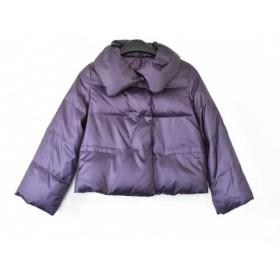 【中古】 アンタイトル UNTITLED ダウンジャケット サイズ2 M レディース パープル 冬物