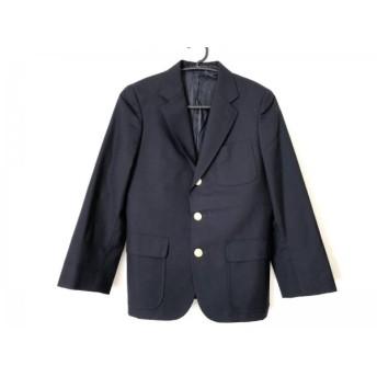 【中古】 ジェイプレス J.PRESS ジャケット サイズ9 メンズ ネイビー 肩パッド
