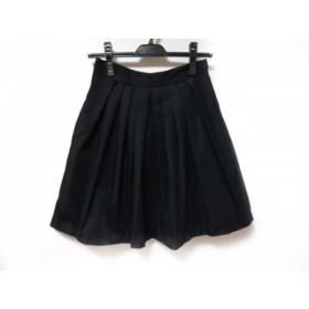 【中古】 シンゾーン Shinzone スカート サイズ38 M レディース 黒