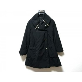 【中古】 エポカ EPOCA ダウンコート サイズ38 M レディース 黒 冬物