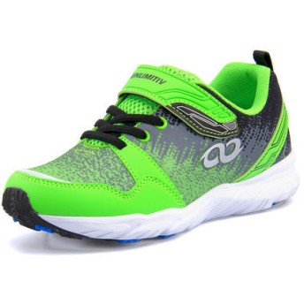 UNLIMITIV(アンリミティブ) キッズ スニーカー 0002 グリーン 運動靴 ボーイズ