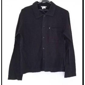 【中古】 アニエスベー agnes b 長袖シャツ サイズ1 S メンズ 黒 homme