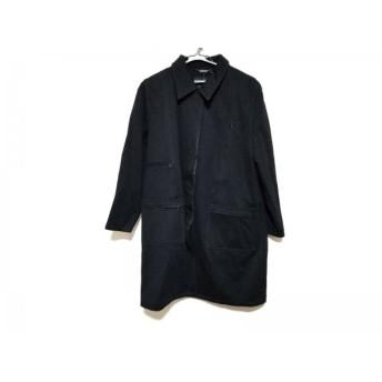 【中古】 フェンディ FENDI jeans コート サイズI44 L レディース 黒 冬物