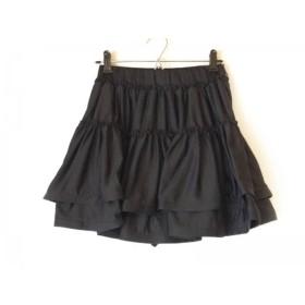 【中古】 ハニーミーハニー Honey mi Honey パンツ サイズF レディース 黒 フリル