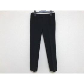 【中古】 アマカ AMACA パンツ サイズ36 S レディース 黒