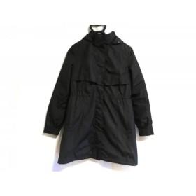 【中古】 インディビ INDIVI コート サイズ38 M レディース 黒 冬物