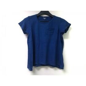 【中古】 フィルメランジェ FilMelange 半袖Tシャツ サイズ0 XS レディース ブルー