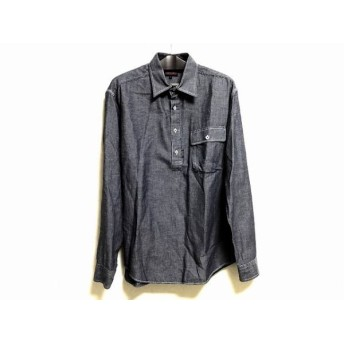 【中古】 パーリーゲイツ PEARLY GATES 長袖ポロシャツ サイズ5 XL メンズ グレー