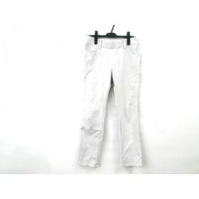 【中古】 ノーブランド パンツ サイズ11 M レディース ライトグレー