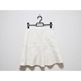 【中古】 リリーブラウン Lily Brown スカート サイズ1 S レディース アイボリー