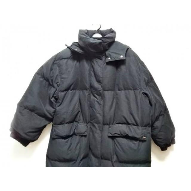 【中古】 ジェオスピリット geospirit ダウンコート サイズ42 L レディース 黒 冬物