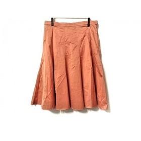 【中古】 ポールカ PAULEKA スカート サイズ38 M レディース オレンジ