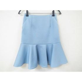 【中古】 ピンキー&ダイアン Pinky & Dianne スカート サイズ34 S レディース 美品 ライトブルー