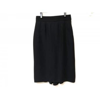 【中古】 アンナモリナーリ ANNA MOLINARI スカート サイズ38 S レディース 美品 黒