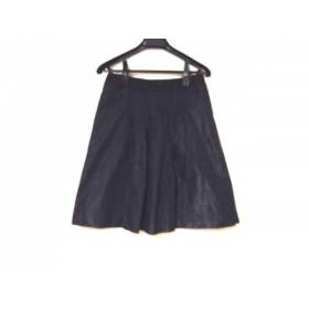 【中古】 ジャスグリッティー JUSGLITTY スカート サイズ2 M レディース 黒