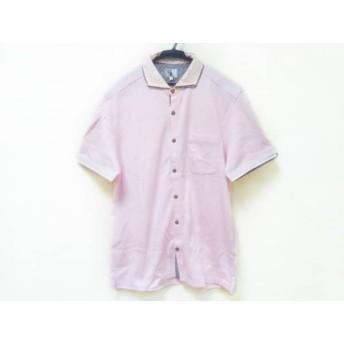 【中古】 ティーケータケオキクチ TK (TAKEOKIKUCHI) 半袖シャツ サイズ5 XS レディース ピンク 綿